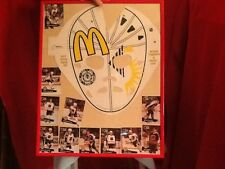 1991 NHL All Star Game McDonalds Goalie Mask with trading cards Framed