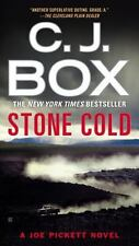 Stone Cold-C. J. Box-2015 Joe Pickett novel #14-large paperback-combined ship