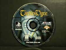 Tactics Ogre (Sony PlayStation 1, 1998) PS1 Disc Only