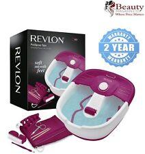 Revlon Relaxing Bubbling Massage Pediprep Foot Spa Bath with Pedicure Set