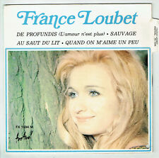 """France LOUBET Vinyle 45T EP 7"""" DE PROFUNDIS - SAUVAGE - FESTIVAL 1594 RARE"""