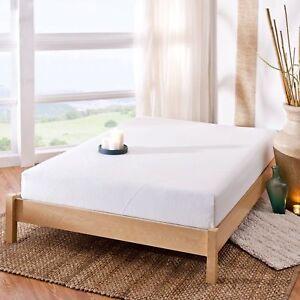 "King Size 8"" Spa Sensations Memory Foam Bed Mattress Comfort Sleep"
