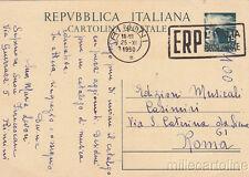 * RIMINI - Richiesta Catalogo di Musica Educativa - Intero Repubblica ERP 1950