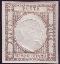 NAPOLI PROVINCE 1861 - 1/2 g. n. 18 NUOVO SPL € 350