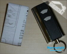 Normstahl Handsender Micro 2-Kanal 433 Mhz + Ring NEU