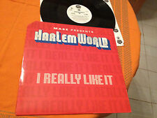 "MASE Presents HARLEM WORLD - I REALLY LIKE IT- 12"" Single 1999  with Kelly Price"