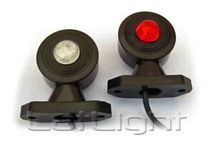 2x LED 12V 24V Begrenzungsleuchten Umrissleuchte Positionsleuchte Markierung LKW