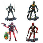 Marvel Legends X-MAN Deadpool Comic Action Figures red /blue/gray Kid Toy Gift