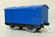 Thomas and Friends Gullane TrackMaster Blue Boxcar Train Car Used