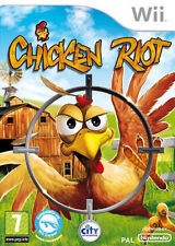 Chicken Riot Nintendo WII IT IMPORT CITY INTERACTIVE