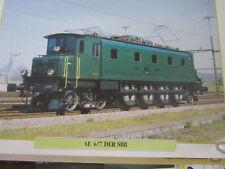 Die Eisenbahn 7 AE 4/7 der SBB Schweizerische Bundesbahnen