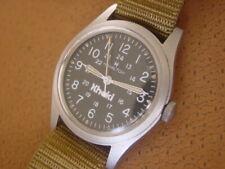 Hamilton Khaki. Military Style Wrist Watch ..... Hack Set ..... Cal. 649