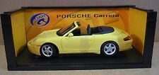 Gateway Porsche Carrera 996 Cabriolet Convert Yellow Car Die-Cast 1:18 Scale NEW