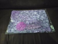 Purple Newborn Maternity Props Baby Photo Props Photography Quilt with Headband