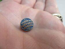 Vtg Child Evangelism Fellowship tiny enamel tie pin.Globe logo.