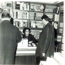 PHOTO originale SIGNE DE PISTE Scout Simone Commandeur Joubert