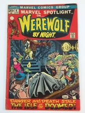 Marvel Spotlight #4 Werewolf By Night 1972 FN