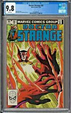 Doctor Strange #58 CGC 9.8 White Pages