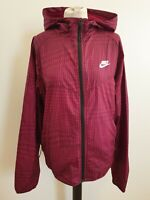 D233 MENS NIKE PURPLE DIAMOND HOODED LIGHTWEIGHT FULL ZIP JACKET UK M EU 50