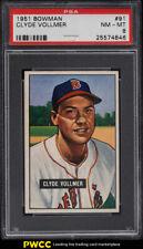 1951 Bowman Clyde Vollmer #91 PSA 8 NM-MT (PWCC)