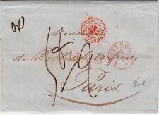 Lettre/Cover Netherland Amsterdam Big Taxe 1846 Rothschild