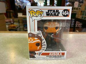 Funko POP! NIB Star Wars Mandalorian AHSOKA #464