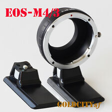 Canon EOS EF Lens to Micro 4/3 M4/3 Adapter EP1 G1 GH1 GF1 EOS-M4/3 With Tripod