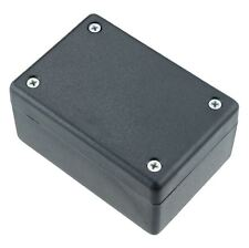 Hammond 1594BSBK Black Heavy Duty GPABS Enclosure 81 x 56 x 40mm