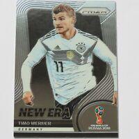 Timo Werner Panini Prizm 2018 World Cup New Era #NE-12 Germany Chelsea Card