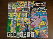 Transformers Comic Book lot, 16 issues, #3 is fine, 1984-1985