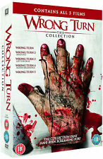 WRONG TURN Complete 1 2 3 4 & 5 Movie Collection Boxset Horror NEW DVD