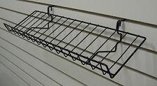 "Candy Shelf Shelves Rack Slatwall Grid Pegboard Display 6.5""DX23""L Lot of 5 NEW"