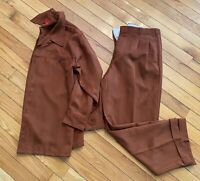 Jean Paul Mens Pant Suit XL 40 Pants Shirt New $199 Designed In Italy