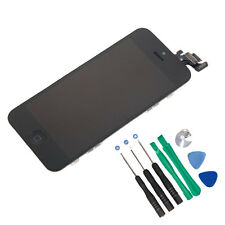 Black Model A1428 A1429 Button w/LCD Display Touch Digitizer Screen for iPhone 5