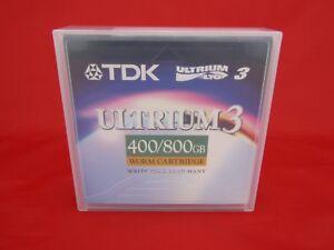 Case of 5 TDK Ultrium 3 - 400/800GB Worm Cartridge - New Sealed - D2406W-LTO3