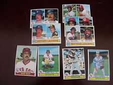 1978 1979 1980 Topps Finish Complete your set U PICK 20 w/Stars  New Cards added