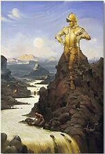 """El Dorado"" Vladimir Kush Limited Edition Giclee on Canvas Hand Signed! Argonath"