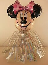 5 Minnie Mouse Table CenterPieces Birthday Foil Balloons Decorations Favors