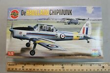 Airfix 1:72 De Havilland Chipmunk Plastic Model Kit #01054-0