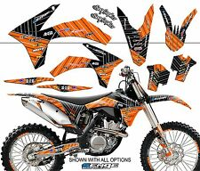 FITS KTM 2004 EXC 200 250 300 450 525 GRAPHICS KIT DECO DECALS STICKERS SENGE
