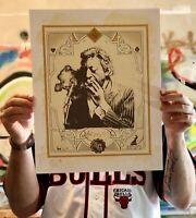 impression art limitée & signée Gainsbourg music