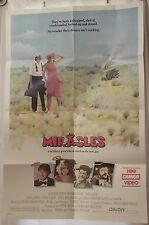 MIRACLES 1986 Original Movie Poster 27x41 Folded Comedy