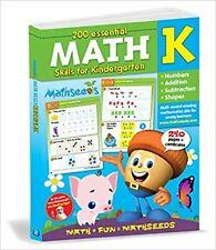Math Seeds Reading Eggs MATH K Kindergarten Skills Workbook 200 lessons 2018
