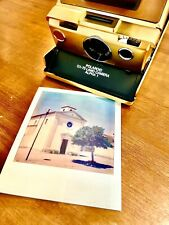 💎Polaroid Sx 70 Land Camera Alpha1 Gold Mildred Scheel no.0007 and Accessory💎