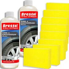 2x Velind Reifenpflege Reifenreiniger Reifen Pflege Schmutzabweisend 500ml Durchsichtig In Sicht Innenreinigung & -pflege Autopflege & Aufbereitung