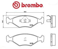 P23040 Kit pastiglie freno, Freno a disco (MARCA-BREMBO)