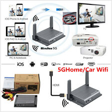5GHome/Car Wifi Mirrorlink Box For iOS10/iOS9 AirPlay Android OS Mirror RCA CVBS