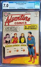 Adventure Comics #247 CGC 7.0 First Legion of Super-Heroes - Top 10 Silver Age!!