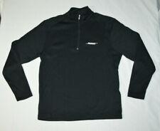 Bose Nike Golf 1/4 Zip Black Long Sleeve Track Jacket Shirt Men M Employee Sales