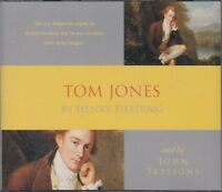 Tom Jones Henry Fielding 3CD Audio Book John Sessions Abridged FASTPOST